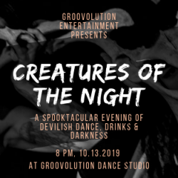 Creatures of the Night, October 13th!